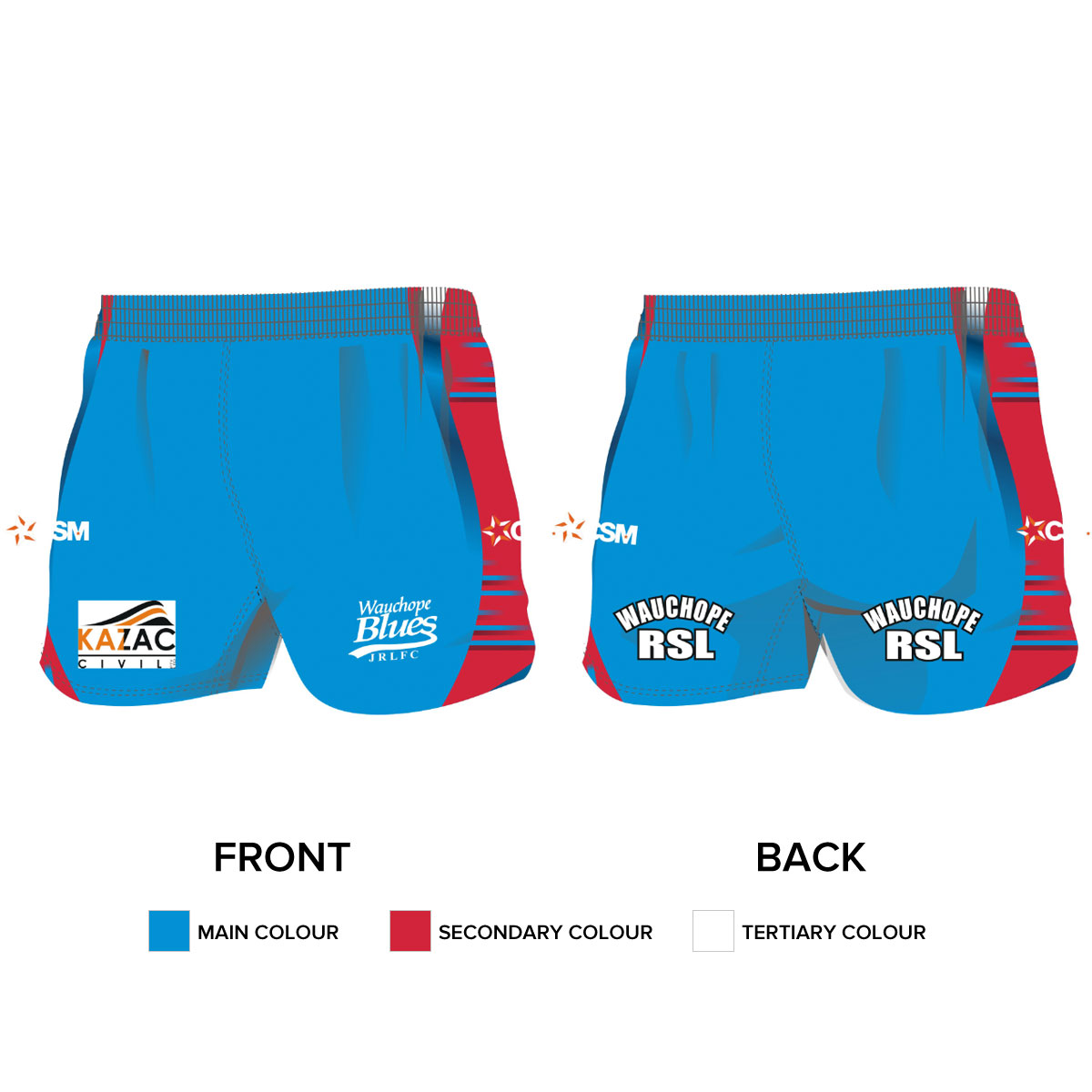 Rugby League Shorts